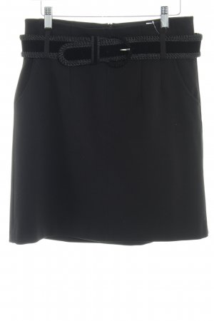 Esprit High Waist Rock schwarz Casual-Look