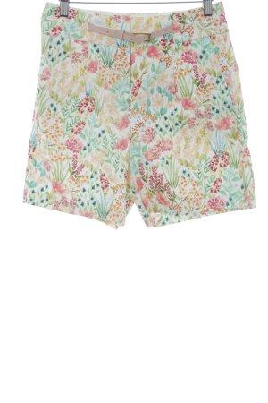 Esprit High-Waist-Shorts florales Muster Romantik-Look