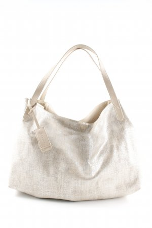Esprit Hobo silberfarben-creme Glanz-Optik