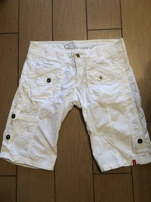 Esprit Pantalone Capri bianco