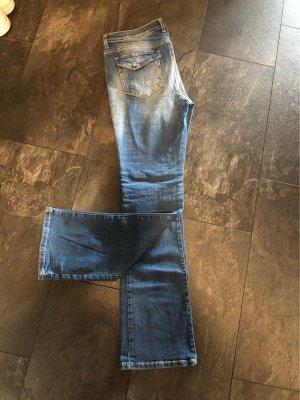 Esprit Jeans a zampa d'elefante blu