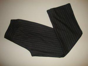 Esprit Stretch Trousers black-silver-colored