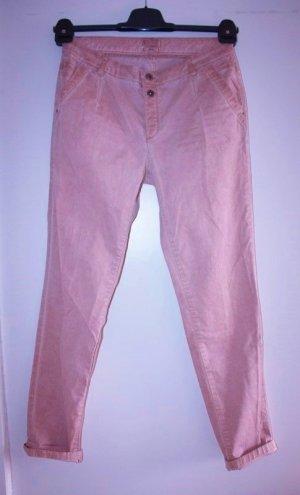 Esprit Pantalon boyfriend rosé-rose coton
