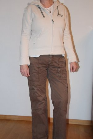 Esprit Cargo Pants light brown cotton