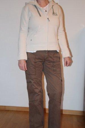 Esprit Pantalon cargo marron clair coton