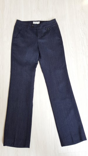 Esprit Woolen Trousers dark blue