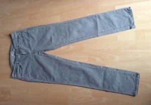 Esprit -Hose mit einfarbigem Muster - Jeans-Style - Gr. 38 - grau