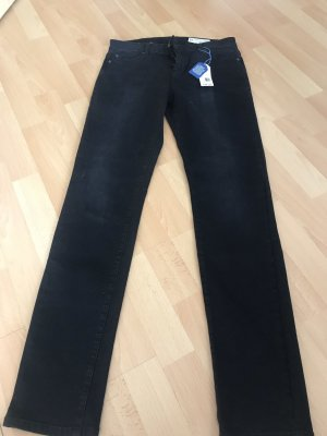 Esprit Pantalón elástico negro