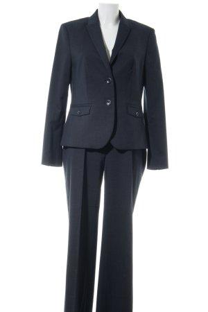 Esprit Tailleur pantalone nero stampa integrale stile professionale