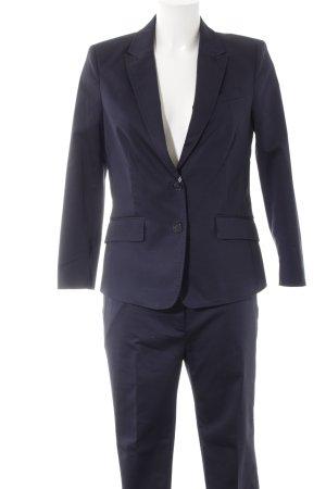 Esprit Broekpak donkerblauw zakelijke stijl