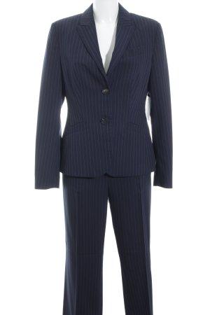 Esprit Trouser Suit dark blue pinstripe business style