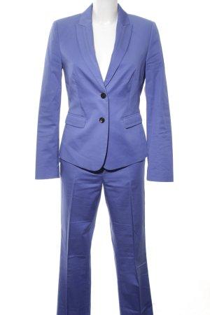 Esprit Broekpak neon blauw zakelijke stijl