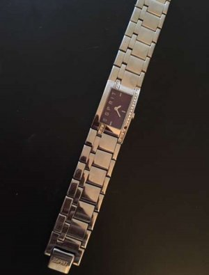 Esprit Houston lila violett Armbanduhr Uhr