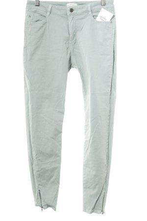 Esprit Pantalone a vita bassa blu pallido stile semplice