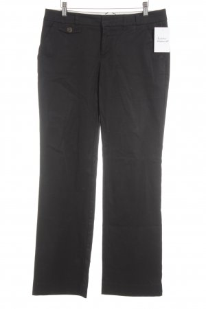 Esprit Pantalone a vita bassa nero stile casual