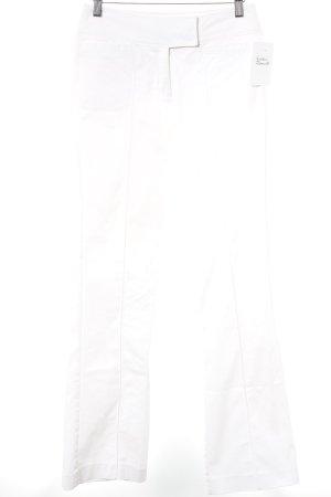 Esprit Pantalone a vita bassa bianco sporco stile casual