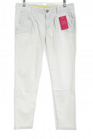 Esprit Low-Rise Trousers natural white classic style