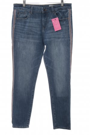 Esprit Jeans taille basse bleu-rouge style décontracté