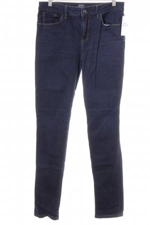 Esprit Low Rise jeans donkerblauw Jeans-look