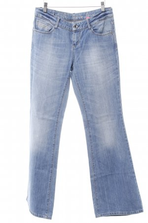 Esprit Hüftjeans kornblumenblau Washed-Optik