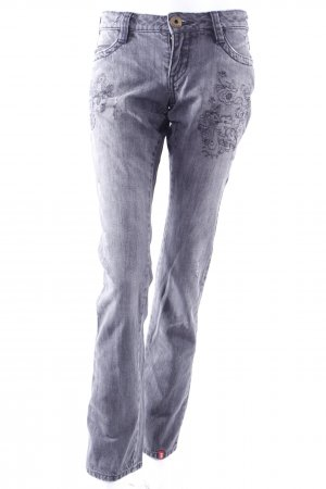 Esprit Jeans with floral embroidery