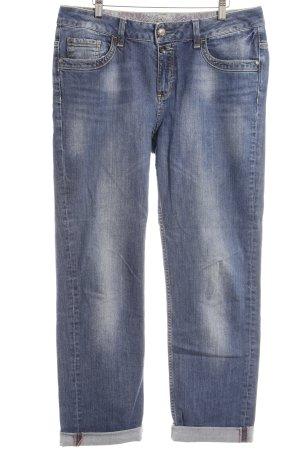 Esprit Jeans taille basse bleu acier style décontracté