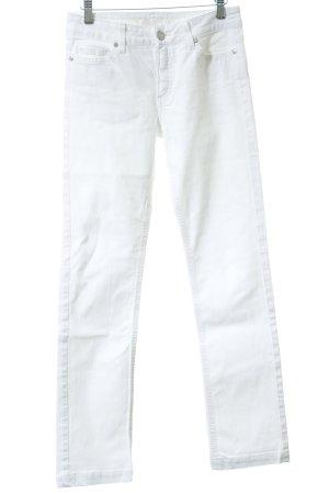 Esprit Low Rise Jeans white sailor style