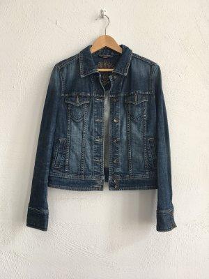Esprit Veste en jean bleu acier-bleuet