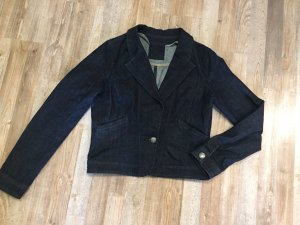 Edc Esprit Denim Blazer dark blue cotton