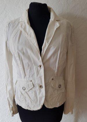 Esprit Jacke Gr. 38 in weiß