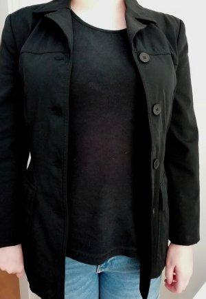 esprit collection Jersey blazer zwart Polyamide