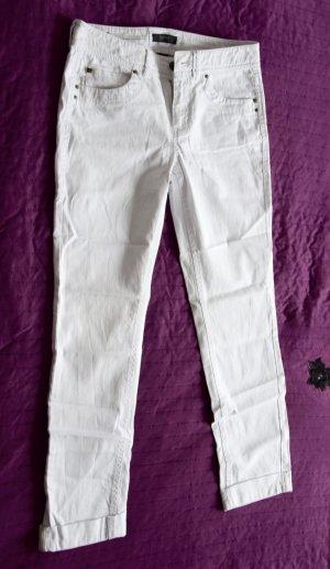 Esprit Jeans 7/8 Hotel in Weiss, Slimfit, Größe 38
