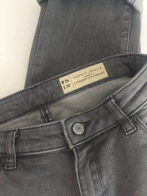 Esprit Pantalone cinque tasche grigio