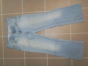 Esprit Jeans met rechte pijpen azuur