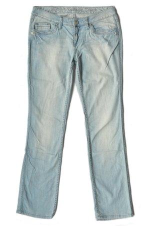 Esprit Jeans a gamba dritta blu pallido-blu Cotone