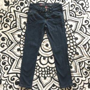 Esprit Jeans Gr. 27 Hose edc dunkelblau Short