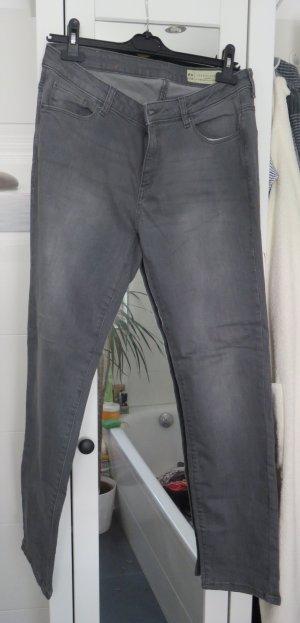 Esprit Hoge taille jeans grijs