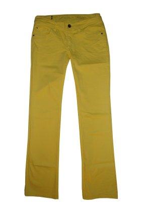 Esprit Jeans Hose Baumwolle Stretch Baumwollstretch gelb Gr. 38 29 Länge 34 neu