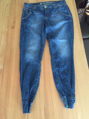 Esprit Jeans Hose mit Bündchen am Fuß