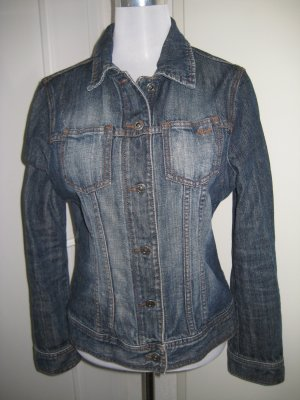 Esprit Jeans Jacke dark blue Denim Gr. M