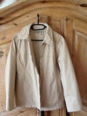 Esprit-Jeans Jacke,naturfarben,In Größe 40