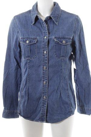 Esprit jeans Jeanshemd blau Casual-Look