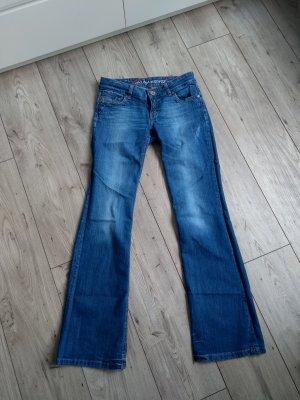 edc by Esprit Boot Cut Jeans blue