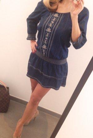 ESPRIT Jeans Kleidchen mit Stickereien