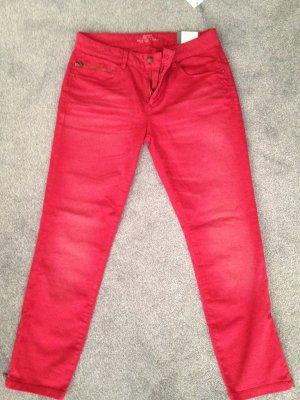 Esprit Jeans Medium Rise Skinny W32 (Gr. 42) heller weinrot-Ton