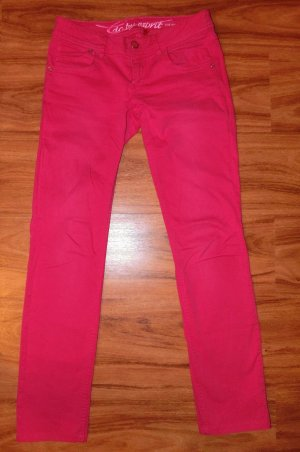 ESPRIT Jeans pink Größe 34 W27 gerades Bein Damen wie neu!