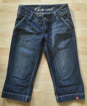 Esprit Jeans Shorts, Capri, Bermuda mit Nadelstreifen