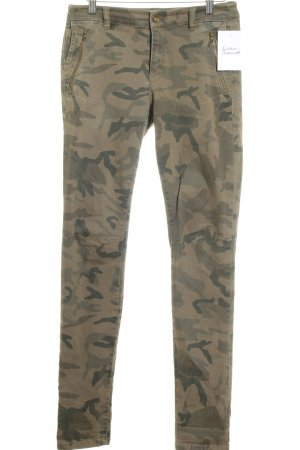 Esprit jeans Slim Jeans Camouflagemuster Military-Look