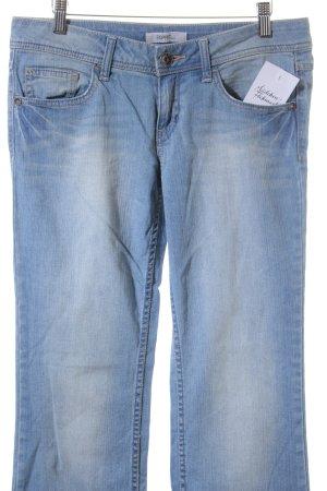 Esprit jeans Straight-Leg Jeans himmelblau-stahlblau Casual-Look