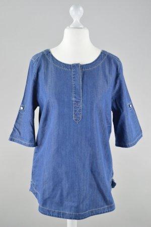 Esprit Jeans Tunika dreviertel Ärmel blau Größe M